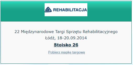 targi rehabilitacja łódź 2014