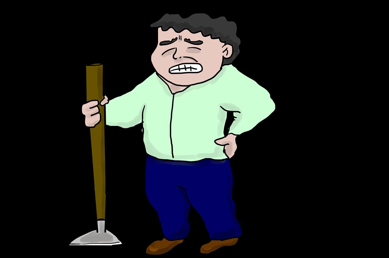 ból pleców po pracy
