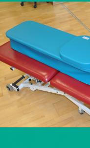 Stół do rehabilitacji i masażu plus zestaw kształtek – najlepszy zestaw do gabinetu fizjoterapii!